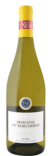Domaine du Martheray Chardonnay barrique Grand Cru Féchy La Côte AOC 2016 75cl