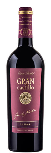 Shiraz Gran Castillo Family Selection Valencia DO 2016 75cl